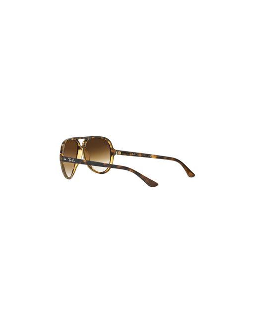 845fd87550 ... sunglass hut online shopping with intu 7e435 52811 wholesale ray ban  brown rb4125 59 cats 5000 for men lyst c9df7 c98e6 ...