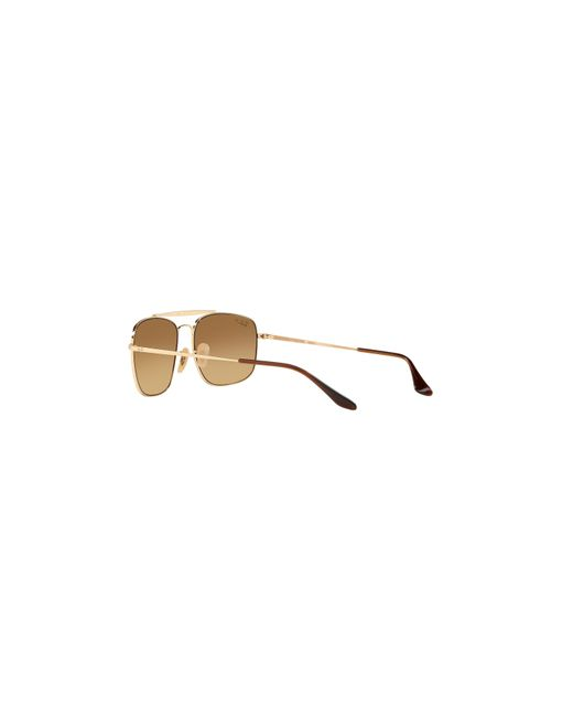 a00026464e2 ... get ray ban brown rb3560 61 the colonel exclusively at sunglass hut for  men 0342a 6f4c9