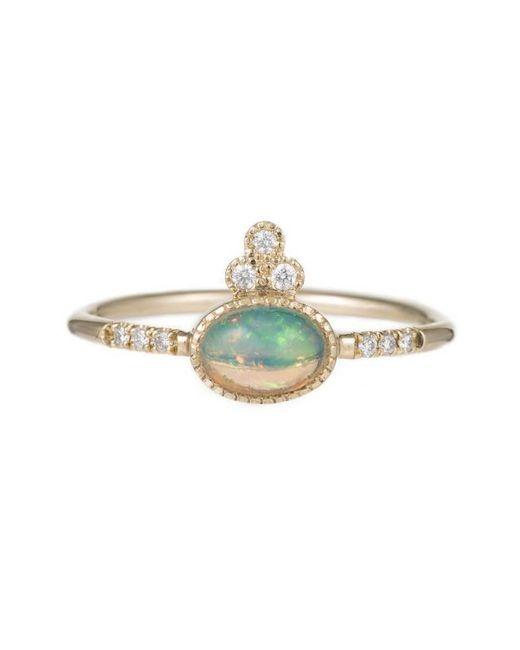 Jennie Kwon | Multicolor Opal Crown Equilibrium Ring | Lyst