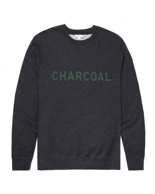 Sunspel - Gray X Perfumer H Cotton Loopback Sweatshirt In Charcoal Melange for Men - Lyst