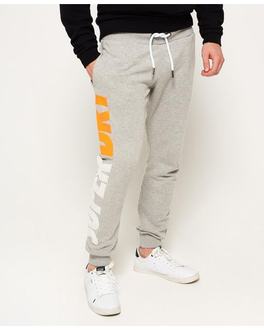Superdry | Gray Japan City Breakers Joggers for Men | Lyst