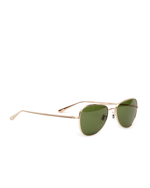 The Row - Green Oliver Peoples For 'executive Suite' Sunglasses - Lyst
