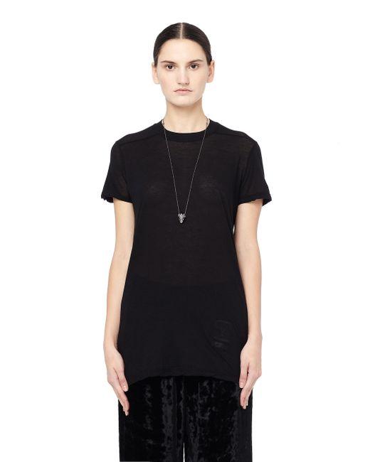 DRKSHDW by Rick Owens - Black Cotton T-shirt - Lyst