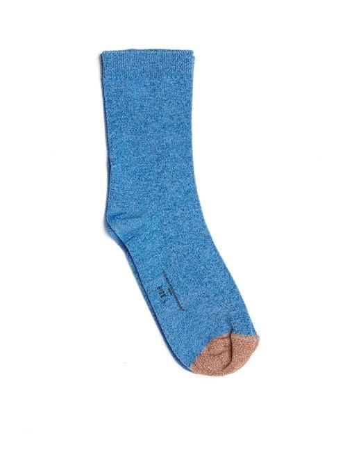 Golden Goose Deluxe Brand   Blue Lurex Socks   Lyst