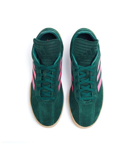 size 40 cd3ad 489b0 ... Gosha Rubchinskiy - Green Suede Sneakers - Lyst