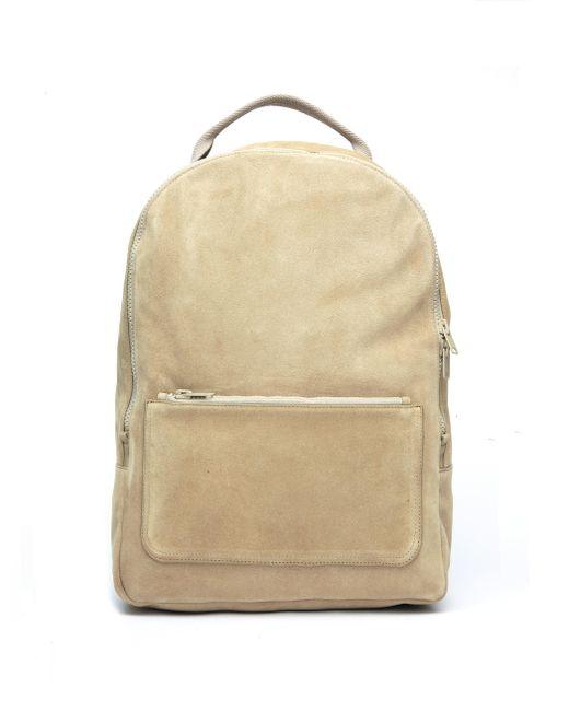 Yeezy - Natural Beige Suede Backpack for Men - Lyst