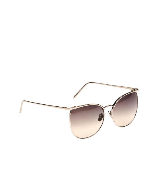 Linda farrow 'luxe' Sunglasses