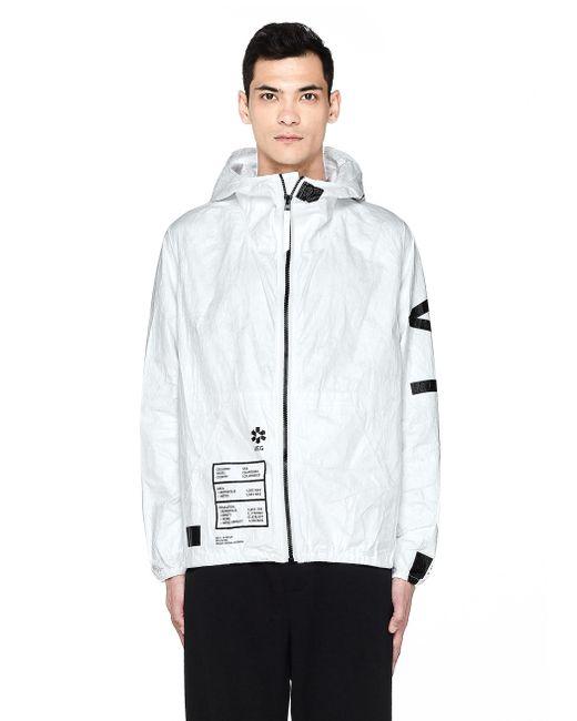 Ueg - White La Printed Tyvek Jacket for Men - Lyst