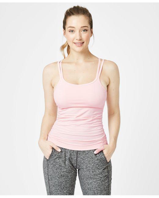 Sweaty Betty Pink Namaska Yoga Tank