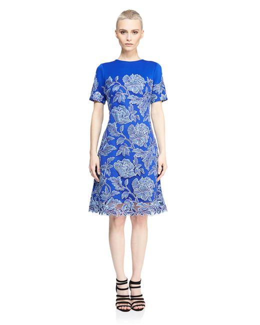 Tadashi Shoji | Blue Sabi Dress | Lyst