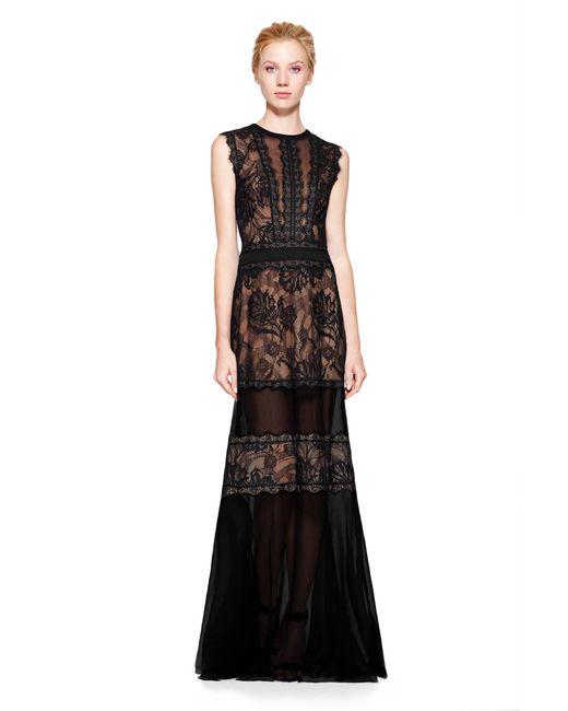 Tadashi Shoji | Black Stella Gown | Lyst