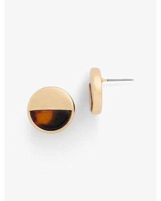 Talbots - Multicolor Tort Stud Earrings - Lyst