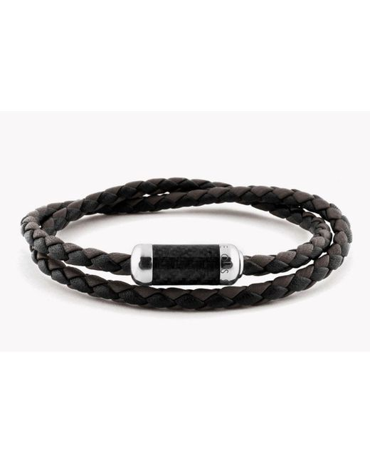 Tateossian | Black Montecarlo Bracelet | Lyst