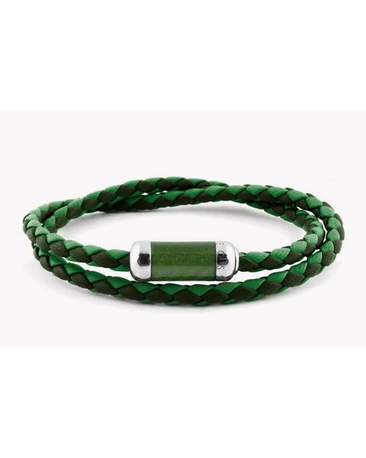 Tateossian | Green Montecarlo Bracelet for Men | Lyst