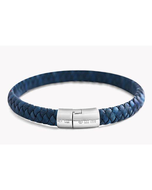 Tateossian | Blue Classic Cobra Bracelet | Lyst