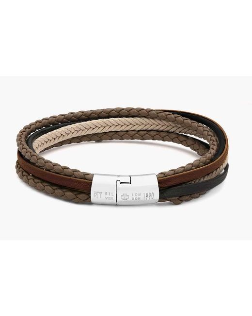 Tateossian | Natural Multi-strand Cobra Bracelet for Men | Lyst