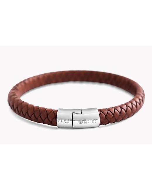 Tateossian   Brown Classic Cobra Bracelet for Men   Lyst
