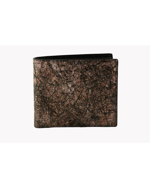Tateossian - Washi Wallet In Brown - Card And Coin Pockets for Men - Lyst