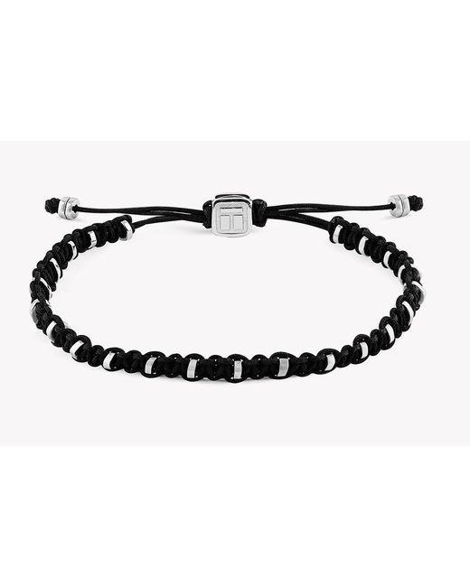 Tateossian   Metallic Macrame Bamboo Silver Bracelet for Men   Lyst
