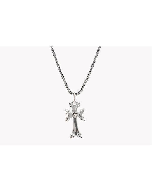 Tateossian - Metallic Silver Armenian Cross Necklace for Men - Lyst