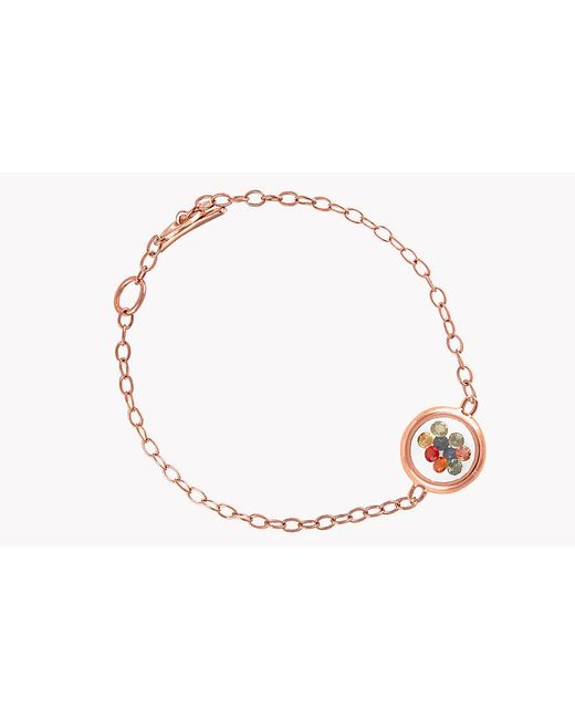 Tateossian - Multicolor Rolling Gems Bracelet With Multi-coloured Sapphires - Lyst