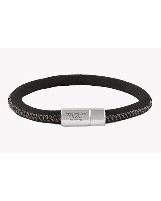 Tateossian - Black Big Pop Camo Silver Bracelet for Men - Lyst