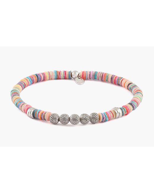 Tateossian | Metallic Seychelles Mesh Silver Bracelet for Men | Lyst