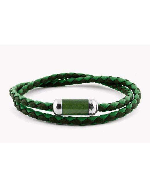 Tateossian - Green Montecarlo Bracelet for Men - Lyst