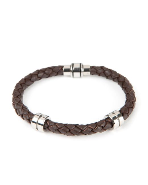 Ted Baker | Brown Thick Leather Bracelet for Men | Lyst