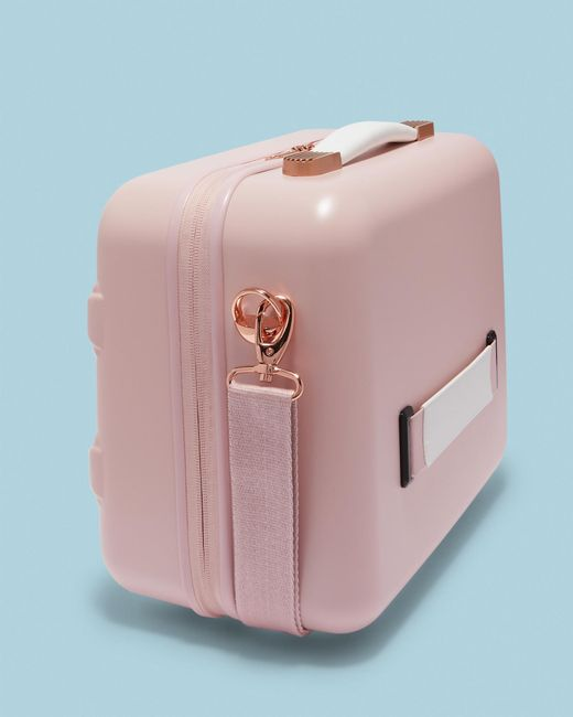 Ted Baker - Pink Tbw0204 Bow Detail Vanity Case - Lyst