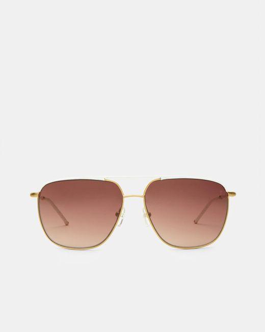 Ted Baker - White Square Sunglasses - Lyst