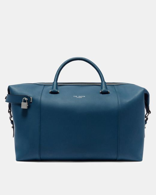 Ted Baker - Blue Rubber-look Holdall for Men - Lyst