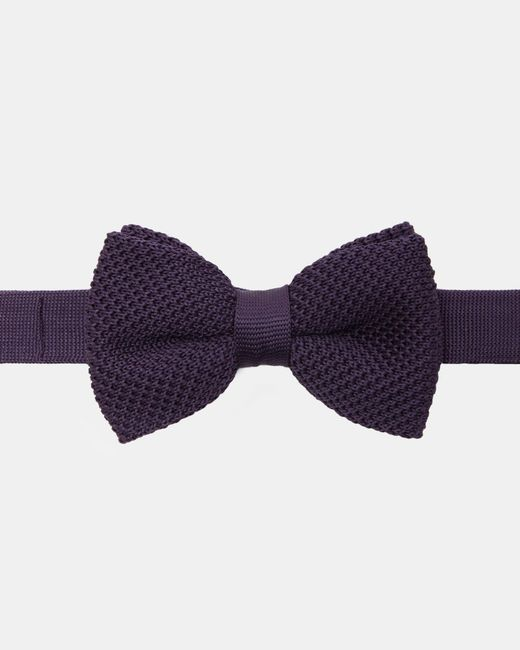 Ted Baker - Purple Knitted Bow Tie for Men - Lyst