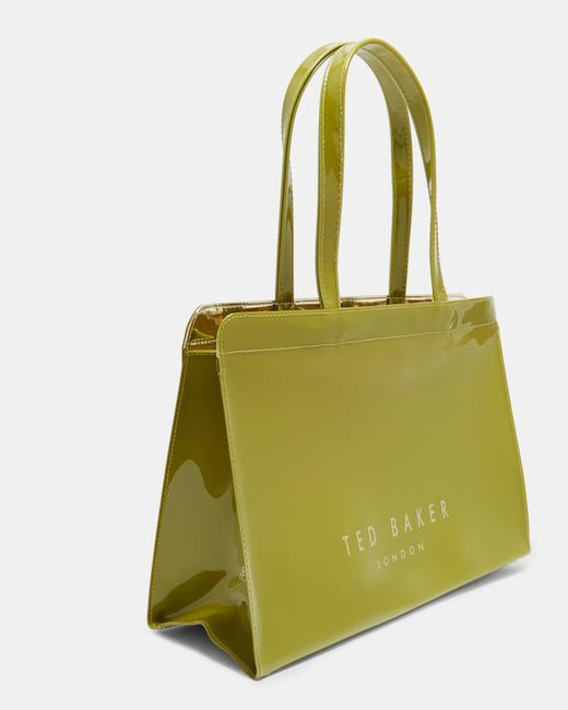 Ted Baker - Green Contrast Bow Icon Bag - Lyst