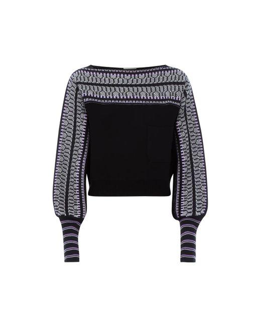 Temperley London - Black Sydney Knit Jumper - Lyst