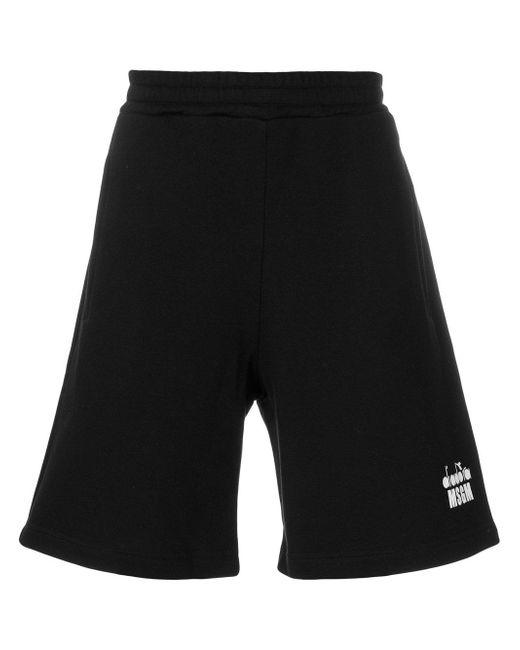 branded Bermuda shorts - White Msgm Z3LCz0i
