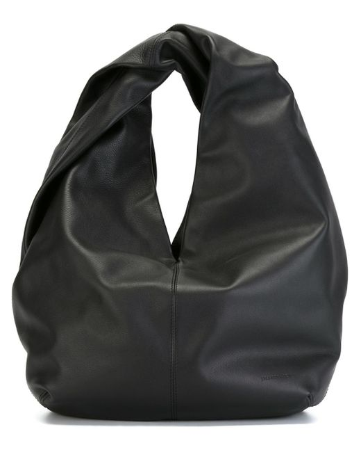 J.W.Anderson | Black Twist Leather Shoulder Bag | Lyst