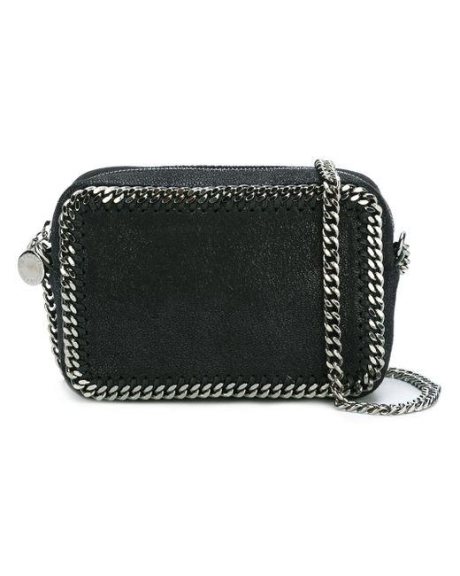 Stella McCartney | Black Mini Falabella Crossbody Bag | Lyst