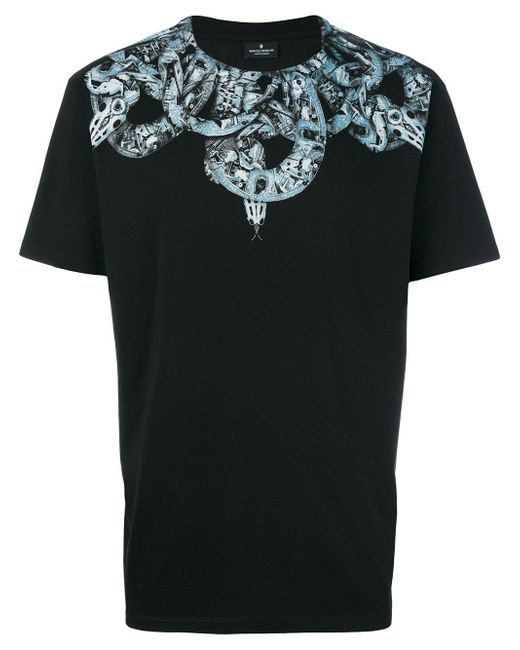 Marcelo burlon Ke T-shirt in Black for Men - Save 5% | Lyst