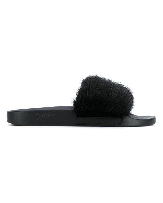Givenchy | Multicolor Open Toe Slides for Men | Lyst