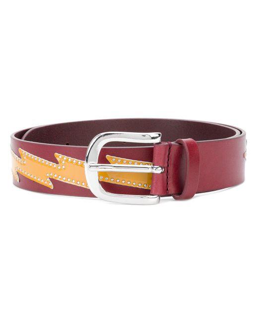 Étoile Isabel Marant - Red Zvenya Leather Belt - Lyst