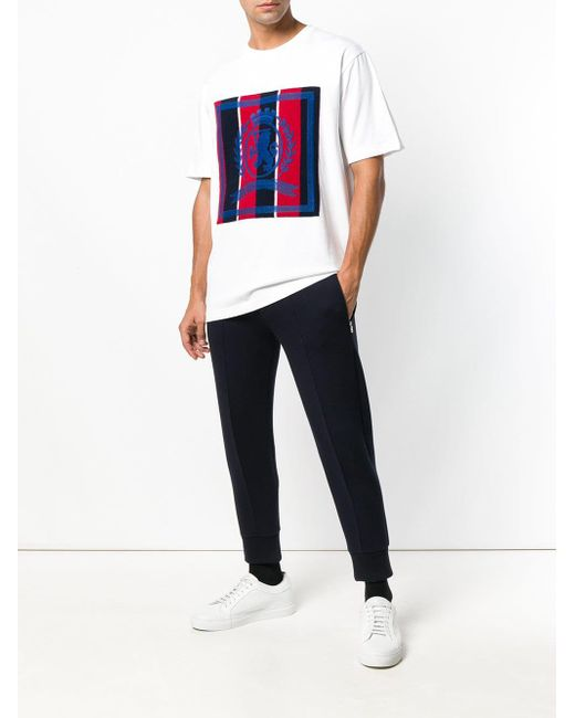 39950286 Tommy Hilfiger Printed T-shirt in White for Men - Save 51% - Lyst