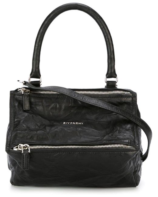 Givenchy - Black Pandora Small Leather Shoulder Bag - Lyst