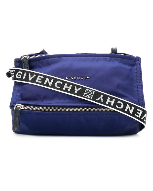 ... huge discount 333c8 8905c Givenchy - Blue Pandora Mini Leather Shoulder  Bag - Lyst . ... 77904d4c1d