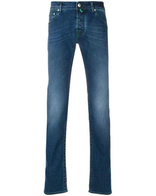 Jacob Cohen - Blue Denim Jeans for Men - Lyst
