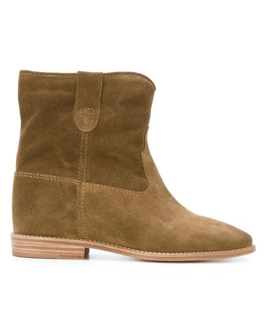 Étoile Isabel Marant - Brown Crisi Suede Boots - Lyst