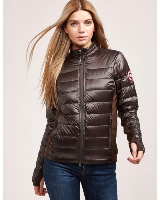 Canada Goose - Womens Hybridge Lite Padded Jacket Brown - Lyst