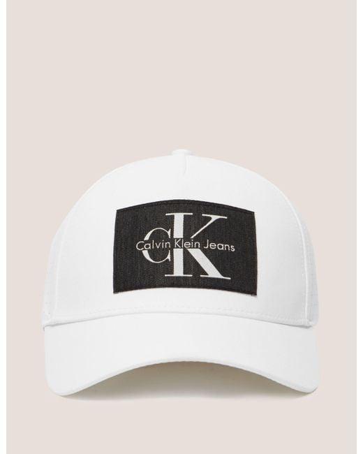 calvin klein reissue cap for men lyst. Black Bedroom Furniture Sets. Home Design Ideas