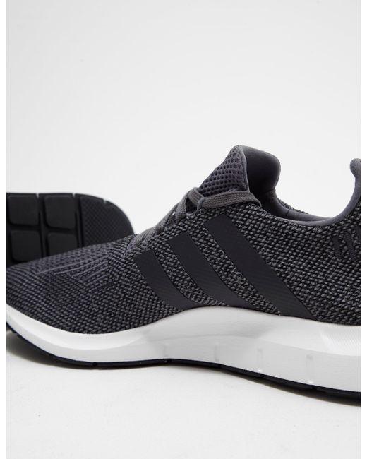 adidas originali mens swift run grey in grigio per gli uomini lyst