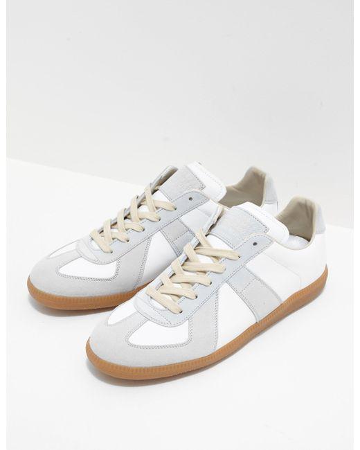 Maison Margiela - Mens Replica Trainers White for Men - Lyst ...